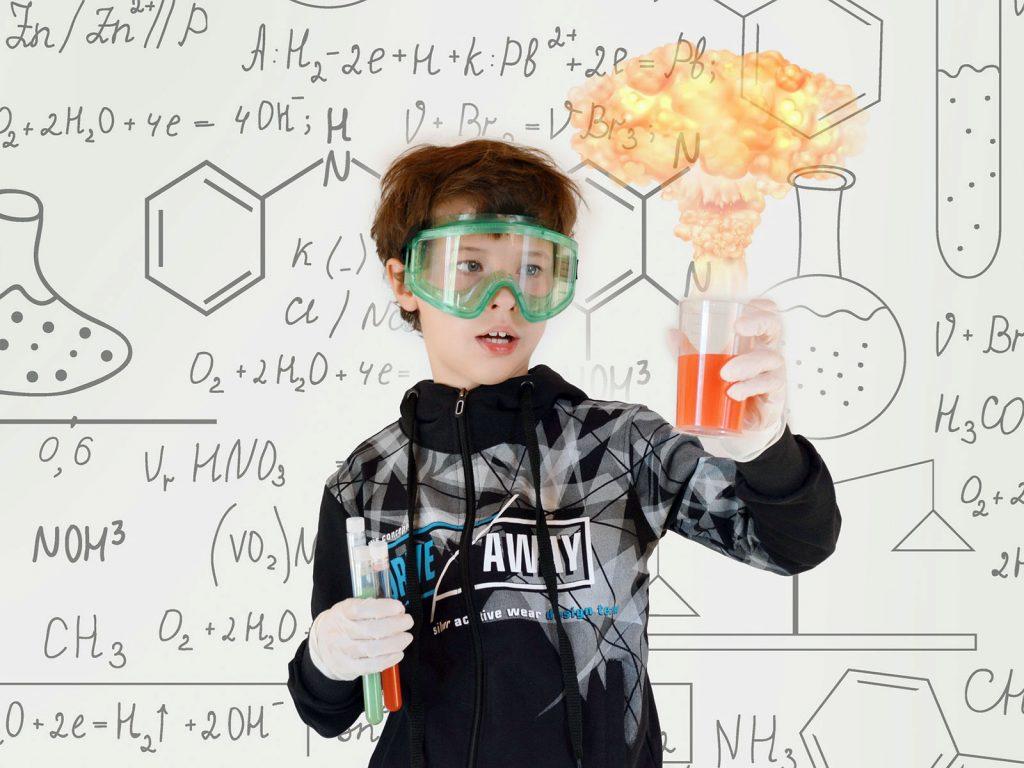 Chemieformeln und Reagenz