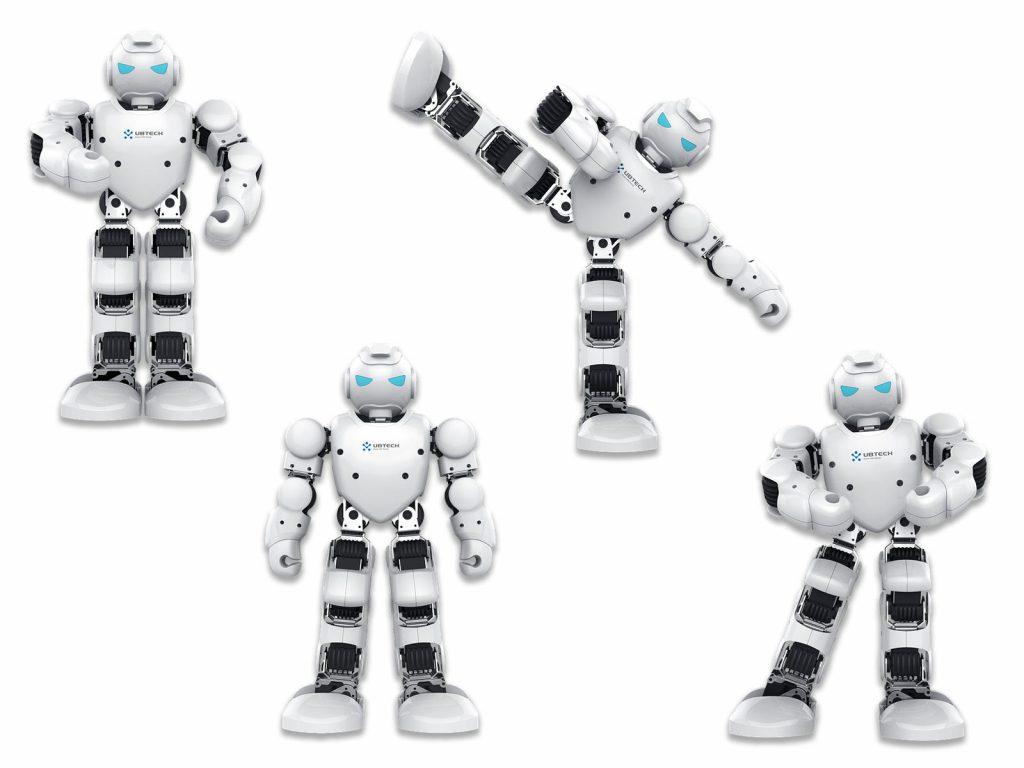 bewegliche Robotermodelle